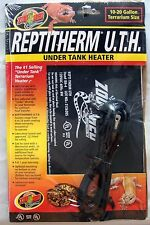 Zoo Med Repti Therm UTH Under Tank Heater RH-4 Reptile Heat Pad Mat 10-20 gallon