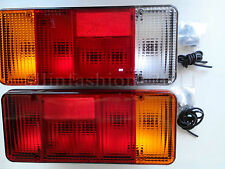 2x Rear Tail Lights for Iveco Fiat Ducato Peugeot Boxer J5 Citroen Relay Jumper