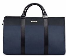 Michael Kors Large Jet Set Tote Duffle Travel Overnight Weekender Bag Black/Navy