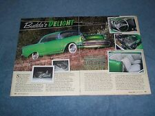 "1957 Chevy 210 Sport Coupe Restored 50's Custom Article ""Budda's Delight"""