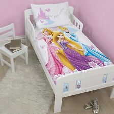 NEW DISNEY PRINCESS DREAMS JUNIOR QUILT COT BED DUVET COVER SET GIRLS BEDDING