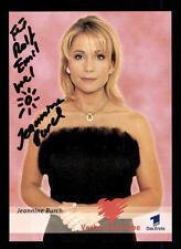 Jeannine Burch Verbotene Liebe Autogrammkarte Original Signiert # BC 40201