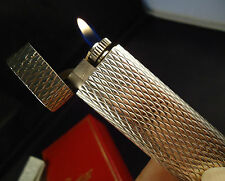 Cartier Lighter -  Solid .925 Silver - Cased - Feuerzeug - Briquet