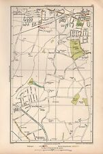 1933 LONDON MAP-UPMINSTER HORNCHURCH,RAINHAM,WENNINGTON,HACTON