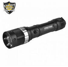 Cree LED Camping Rechargeable Flashlight 220 Lumen Survivalist Bug Out Bag Gear