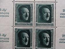 Deutsches Reich Mi Block 11 * , Sc B106 *