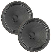 """Pair Eminence Private Jack 12"""" Guitar Speaker Red Coat 16 ohm 100dB Replacement"""