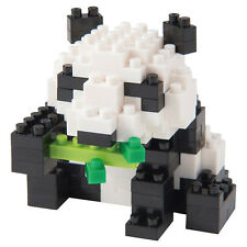 Giant Panda Nanoblock Miniature Building Blocks New Sealed Pk  NBC 159