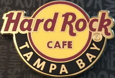 NEW Hard Rock Cafe TAMPA BAY AIRPORT 2016 Classic HRC Logo City Core PIN on CARD