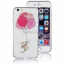 Ultra Thin Airballoon Cute Cat Slim Soft Case Cover for Apple iPhone 6 Plus