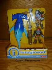 Fisher-Price Imaginext Hammerhead Shark Pirate Harpoon 2 Pack Ocean Figures