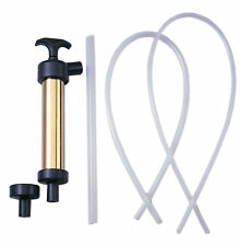"MARINE BOAT RV OIL CHANGE 9"" BRASS HAND PUMP SELF PRIMING ACTION"