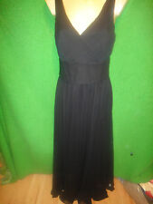 WOMENS SZ 10 WHITE HOUSE BLACK MARKET BLACK EVENING GOWN DRESS NWT MSRP 248.00