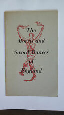 EFDSS MORRIS and SWORD DANCES OF ENGLAND COTSWOLD ENGLISH FOLK MUSIC