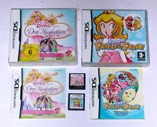 Juegos: barbie mosqueteros + Super Princess Peach Nintendo DS Lite + + 3ds + xl