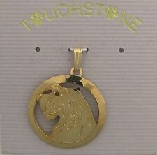 Spinone Italiano Jewelry Gold Pendant for Necklace