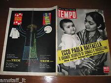 RIVISTA TEMPO 1959/11=DOMENICO MODUGNO=JULIETTE GRECO=HELKE SUMMER=SUPER TRIM=
