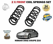 FOR NISSAN 350Z Z33 COUPE 3.5 2002--  NEW 2 X FRONT COIL SPRINGS SET