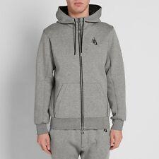 NikeLab Essentials Hoodie - XS - 835380-063 Hoody Tech Fleece Heather Grey Zip