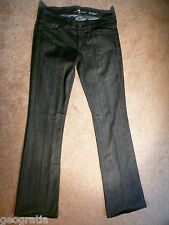 7 For All Mankind Bootcut Dark Wash Womens Jeans 27 x 33