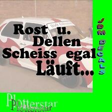 Dellen u. Rost Egal  Drift Winter JDM Sticker Aufkleber oem Shocker Winterauto