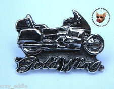 HONDA GOLDWING MOTORCYCLE VEST PIN  ** MADE IN THE USA ** GOLD WING JACKET PIN