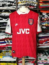 ARSENAL home 1994-96 shirt - BERGKAMP # 10 -Holland-Inter Milan-Ajax-Jersey