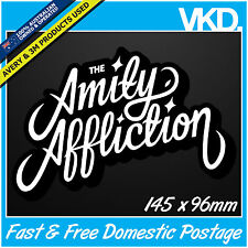 The Amity Affliction Sticker/ Decal - Band Music Vinyl Hardcore Skateboard BMX