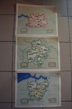 C36 Ensemble de 3 cartes de Belgique Caisse d'épargne et de retraite affiche