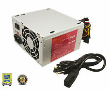 A-Power AGS450 450 Watt Power Supply 20+4-pin 2 80mm Fans ATX w/ SATA 450W 460*