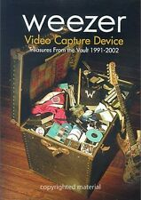 Weezer - Video Capture Device 1991-2002 3+ Hours! (DVD, 2004, Amaray Case)