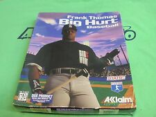 Frank Thomas: Big Hurt Baseball (PC, 1996) - Retail Box - MS-DOS VERSION