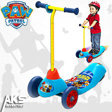 PAW Patrol Electric Scooter 3-Wheel Rechargeable Kids Smooth Safe Start Ride New
