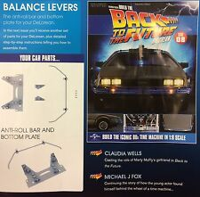 Build the Back to the Future Delorean Issue #8 scale 1:8 diecast model 52.7 cm