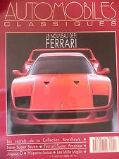 AUTO CLASSIQUES N) °21 Super Seven Ferrari Super america  Jaguar D Hispano Suiza