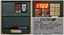 RELIANCE ELECTRIC GV3000 15 HP 15V4160 VER. 6.08 AC DRIVE INVERTER TESTED GOOD