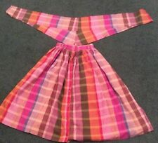 Hoe Down Skirt And Neckerchief Country Dance Costume Or Fancy Dress