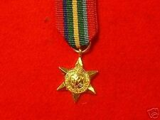 Quality World War 11Pacific Star  Miniature Medals