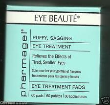 Pharmagel Complexe Eye Beaute  Herbal PUFFY EYE TREATMENT 60 Pads Hypoallergenic