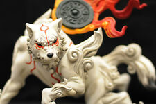AMATERASU Premium Resin Statue OKAMI Playstation no Tsume - EXTREMELY RARE