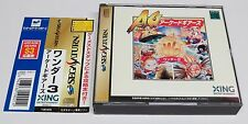 Wonder 3 Arcade Gears 3 Wonders Sega Saturn JPN Japan + Spine