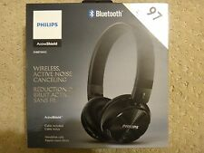 NEW ! Philips Wireless Noise Canceling Headphones Blk # SHB8750NC/27
