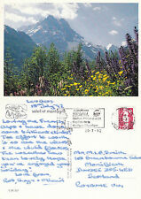 1994 THE ALPS LES GETS HAUTE SAVOIE FRANCE COLOUR POSTCARD