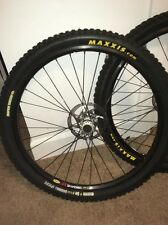 NEW! Mavic 317 26 Inch Disc Wheelset DEORE LX HUBS Maxxis Tackys All New