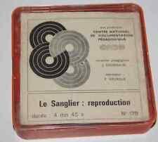 film pédagogique 8mm S8 CNDP OFRATEME bobine 60m Sanglier : la reproduction