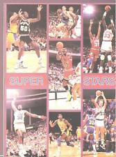 1990 Starline STARS JORDAN MAGIC BIRD EWING Monster Poster MINI Promo Piece RARE