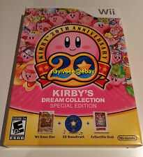 Kirby's Dream Collection Special Edition Nintendo Wii NEW Limited US Version