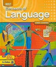 Holt Elements of Language: First Course