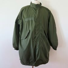 VINTAGE ORIGINAL US ARMY FISHTAIL PARKA WITH LINER M-65 M65 1972 SIZE MEDIUM
