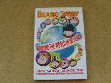 THE BEANO AND THE DANDY – AROUND THE WORLD IN 60YEARS – EXCELLENT